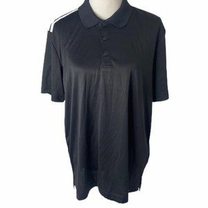 ~NWT men's large Adidas s/s knit golf polo shirt